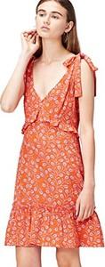 Pomarańczowa sukienka Find