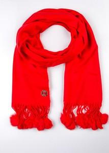 Czerwony szalik Monnari