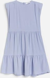 Fioletowa sukienka dziewczęca Reserved