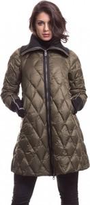 Zielona kurtka Pregio Couture długa