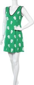 Zielona sukienka Sourpuss mini