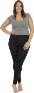 Brak Legginsy Ciążowe Plus Size Czarne