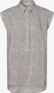 Bluzka Marie Lund z krótkim rękawem z kołnierzykiem w stylu casual