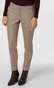 Brązowe spodnie Marie Lund w stylu klasycznym