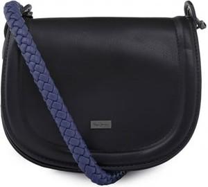 Czarna torebka Pepe Jeans na ramię