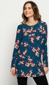 Bluzka Lavard z tkaniny z okrągłym dekoltem