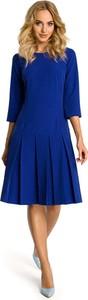 Granatowa sukienka MOE