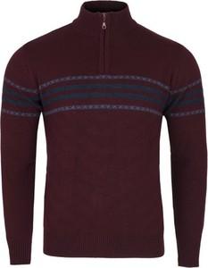 Czerwony sweter Colorbar z wełny