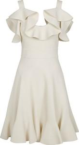 Sukienka Alexander McQueen z dekoltem w kształcie litery v mini