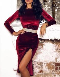 Sukienka Kendallme w stylu casual dopasowana z okrągłym dekoltem