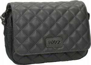 Czarna torebka NOBO ze skóry ekologicznej na ramię mała