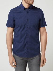 Koszula S.Oliver z bawełny z klasycznym kołnierzykiem z krótkim rękawem