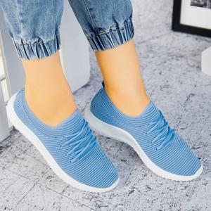 Niebieskie buty sportowe sklep-szpilka24