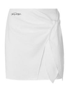 Spódnica Tommy Hilfiger z bawełny