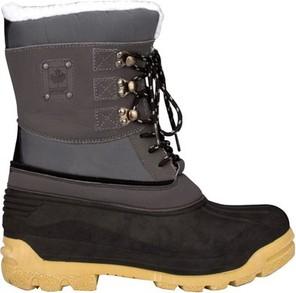 Buty zimowe Winter Grip ze skóry sznurowane