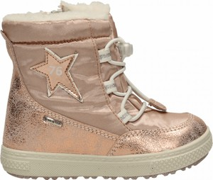 Buty dziecięce zimowe Primigi z tkaniny sznurowane