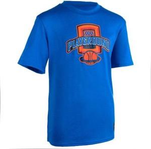 Niebieska koszulka dziecięca Tarmak