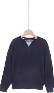 Sweter Tommy Hilfiger z jeansu
