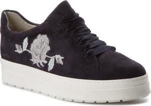 Sneakersy caprice - 9-23702-30 ocean suede 857