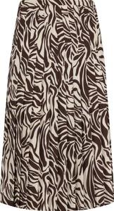 Brązowa spódnica Marella midi w stylu casual