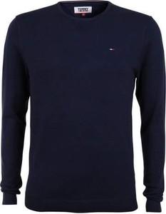 Sweter Tommy Jeans z dzianiny w stylu casual