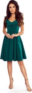 Sukienka NUMOCO z dekoltem w kształcie litery v