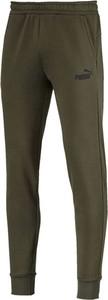 Zielone spodnie sportowe Puma