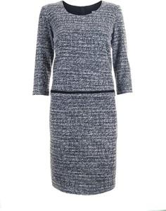 Sukienka SPEKTRA w stylu casual z okrągłym dekoltem z bawełny
