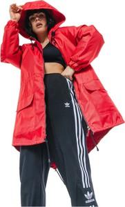 Czerwona kurtka REST FACTORY z tkaniny w stylu casual