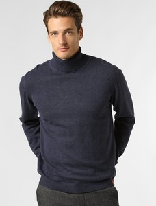 Granatowy sweter Finshley & Harding z kaszmiru