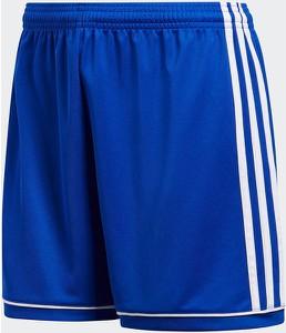 Niebieskie szorty Adidas w sportowym stylu