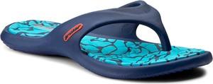 Niebieskie klapki Rider w sportowym stylu