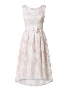Różowa sukienka Swing bez rękawów