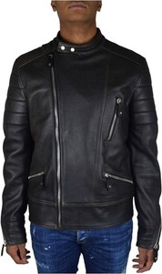 Czarna kurtka Philipp Plein krótka