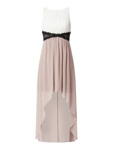 Sukienka Jake*s Cocktail z szyfonu z okrągłym dekoltem bez rękawów