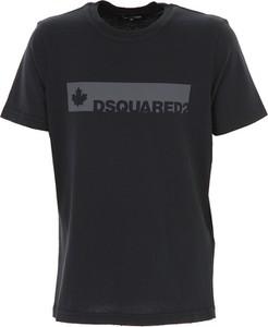 Czarna koszulka dziecięca Dsquared2