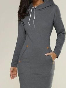 Sukienka Kendallme sportowa z dekoltem w kształcie litery v mini
