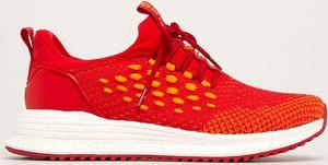 Czerwone buty sportowe Big Star sznurowane