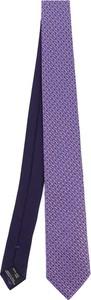 Fioletowy krawat Missoni