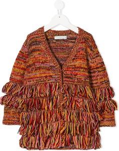 Brązowy sweter Stella Mccartney Kids