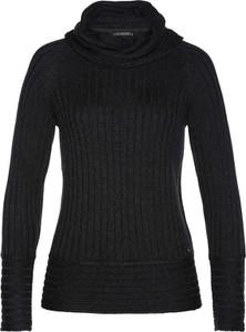 Czarny sweter bonprix bpc selection premium