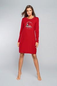 Czerwona piżama Italian Fashion