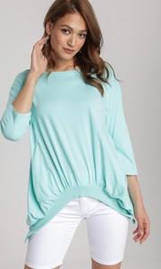 Miętowa bluza Renee w młodzieżowym stylu
