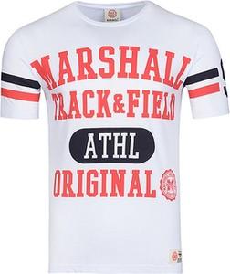 T-shirt Marshall Orginal z nadrukiem z bawełny z krótkim rękawem