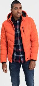 92930514fa7f3 Pomarańczowe kurtki męskie Diverse, kolekcja zima 2019