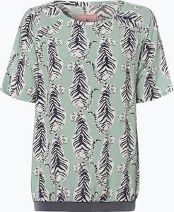 Zielona bluzka Lieblingsstück z okrągłym dekoltem
