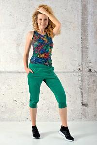 Zielone spodnie Nessi Sportswear