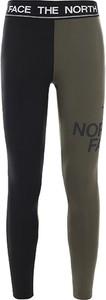 Spodnie The North Face z żakardu w sportowym stylu