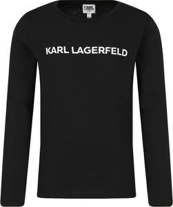 Bluzka dziecięca Karl Lagerfeld z długim rękawem