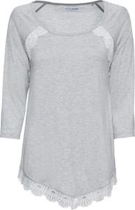 Bluzka bonprix BODYFLIRT z długim rękawem z okrągłym dekoltem